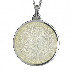St Christopher medal-extra large