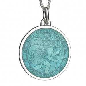 St Christopher medal-small