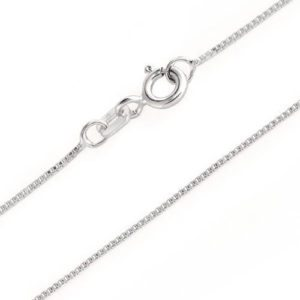 Sterling Silver Chain-Box Link