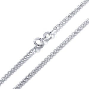 Sterling Silver Chain-Cable Link
