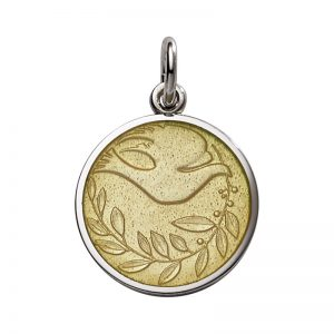 Dove of Peace medal-small