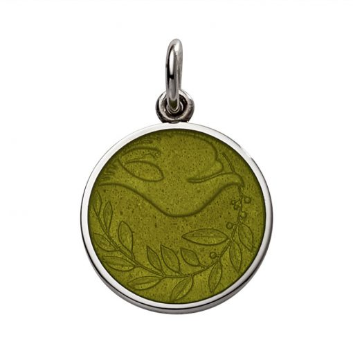 Olive colored Dove Pendant sold by King Jewelers in Cohasset, Massachusetts