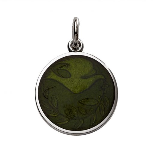 Green Dove Pendant sold by King Jewelers in Cohasset, Massachusetts