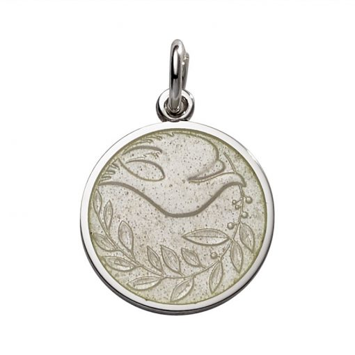 tan Dove Pendant sold by King Jewelers in Cohasset, Massachusetts