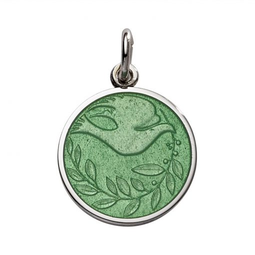 Green Blue Dove Pendant sold by King Jewelers in Cohasset, Massachusetts