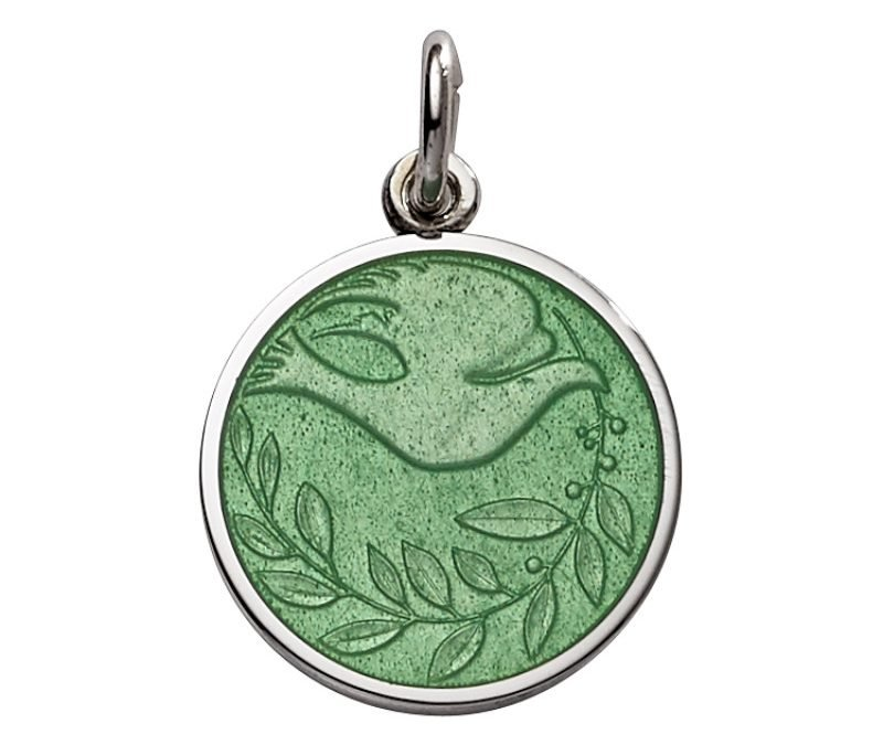 Dove of Peace medal-extra small