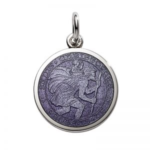 St Christopher medal-extra small